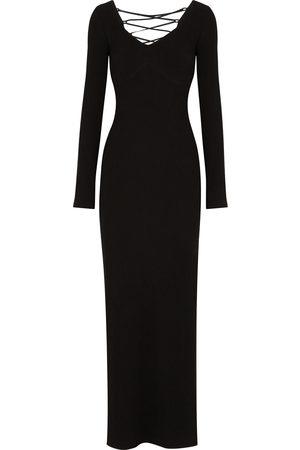 OSMAN Women Maxi Dresses - Dana lace-up maxi dress