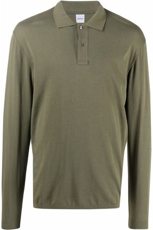 Aspesi Long-sleeved cotton polo shirt