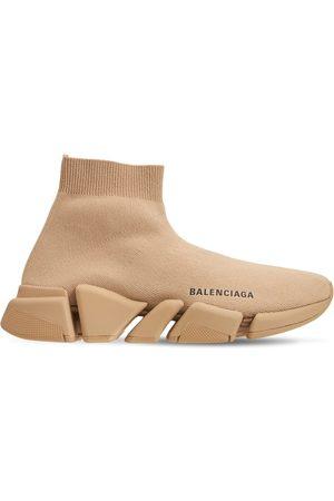 Balenciaga Men Sneakers - Speed 2.0 Knit Sport Sneakers
