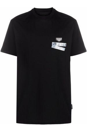Philipp Plein Logo-Tape short-sleeve T-shirt