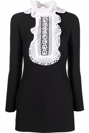 VALENTINO Women Mini Dresses - Frill collar minidress