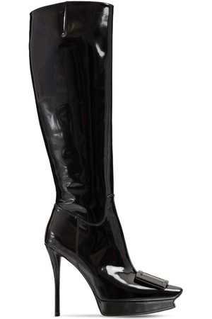 Roger Vivier Women Thigh High Boots - 120mm Patent Leather Tall Boots