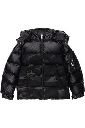 Moncler Nimet Camouflage Nylon Down Jacket
