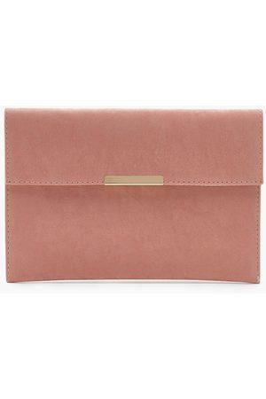 Boohoo Womens Envelope & Bar Clutch Bag - - One Size