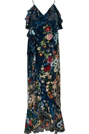 Camilla Women Party Dresses - Dreams of Midsummer frill wrap dress