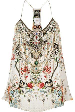 Camilla Shakespeare's Garden silk top