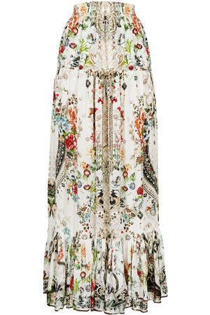 Camilla Shakespeare's Garden tiered skirt