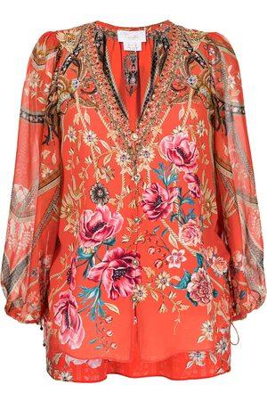 Camilla Floral print blouse