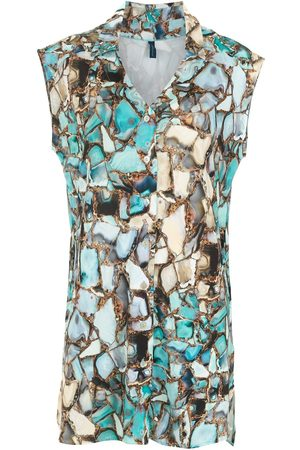 Lygia & Nanny Geode print shirt dress