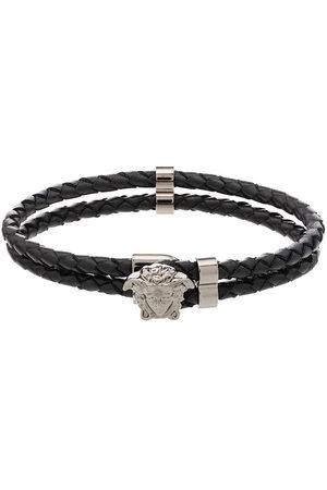 VERSACE Men Bracelets - Medusa charm rope bracelet