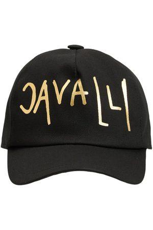 Roberto Cavalli Girls Hats - Embroidered Logo Cotton Baseball Hat