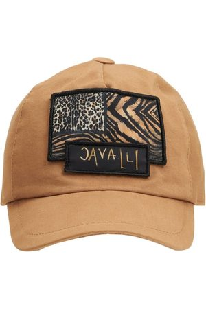 Roberto Cavalli Embroidered Cotton Baseball Hat
