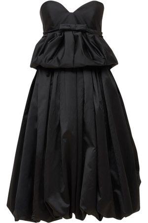 Lanvin Women Bras - Satin Bustier Balloon Dress