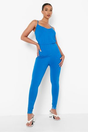 Boohoo Women Camisoles - Womens Basic Cami Jumpsuit - - 4