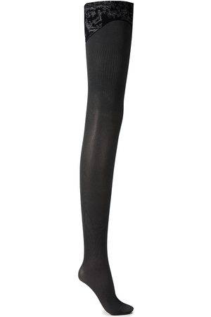 Wolford Woman Kirsten Stretch-jacquard Tights Size M