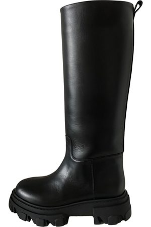 GIA Leather biker boots