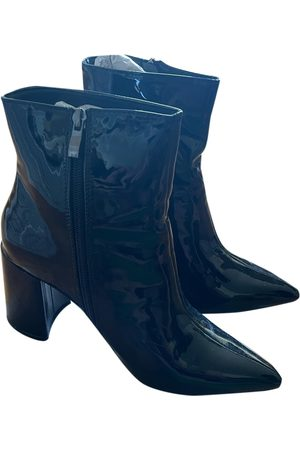 Boohoo Patent leather ankle boots