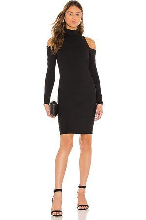 Susana Monaco Women Party Dresses - Mock Neck Open Shoulder Dress in .