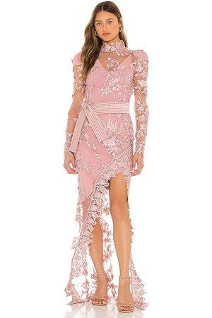 Zhivago Poison Gown in Blush.