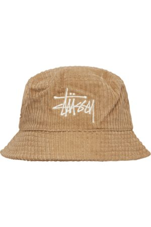 STUSSY Men Hats - Corduroy big basic bucket hat MAPLE
