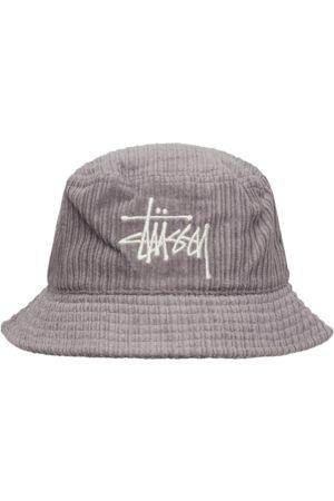 STUSSY Men Hats - Corduroy big basic bucket hat LAVENDER