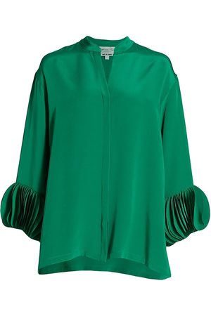 Catherine Regehr Women Blouses - Laser Oval Cuff Blouse