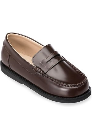 Elephantito Loafers - Kid's Scholar Leather Moccasins