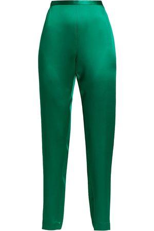 Catherine Regehr Women Pants - Elasticized Silk Pants