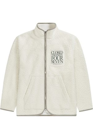 Closed Men Fleece Jackets - Wool teddy jacket