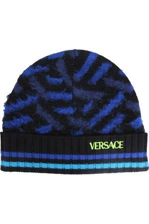 VERSACE Men Hats - Brushed wool hat