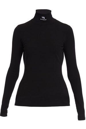 Balenciaga Women Long sleeves - Mock collar top L/S