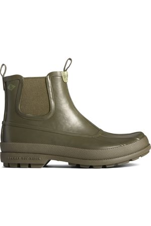 Sperry Top-Sider Men's Sperry Cold Bay Rubber Chelsea Boot Olive, Size 8M