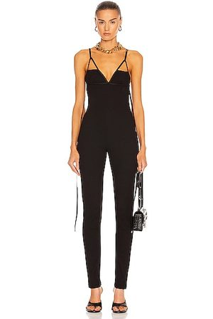 Givenchy Thin Strap Bra Jumpsuit in