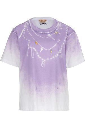 Marni Found Treasures print cotton jersey T-shirt