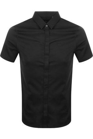 Armani Slim Fit Short Sleeved Shirt