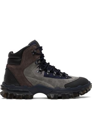 Moncler Herlot Suede Hiking Boots
