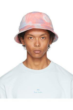 Paul Smith Blue & Pink Dip-Dye Bucket Hat