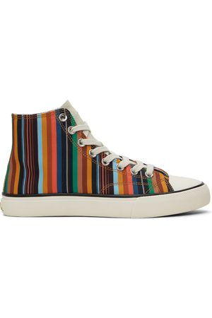 Paul Smith Striped Carver Sneakers