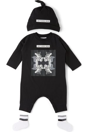 Burberry Baby Thomas Bear Bodysuit Set