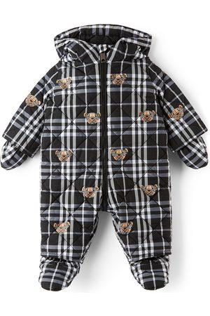 Burberry Baby N6-River Bear Puffer Snowsuit