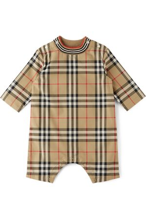 Burberry Baby Check Michael Jumpsuit