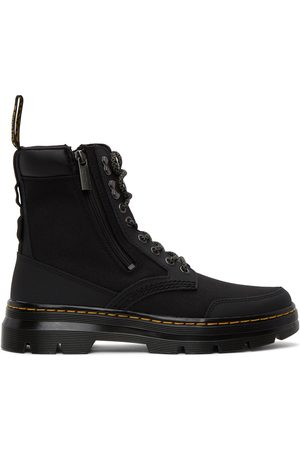 Dr. Martens Black Combs Zip Casual Boots