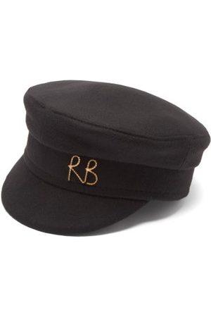 Ruslan Baginskiy Logo-plaque Canvas Baker Boy Cap - Womens