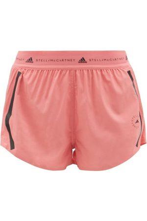 adidas Women Sports Shorts - Truepace Jersey And Mesh Running Shorts - Womens - Light