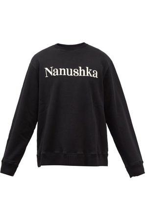 Nanushka Remy Logo-embroidered Organic-cotton Sweatshirt - Mens