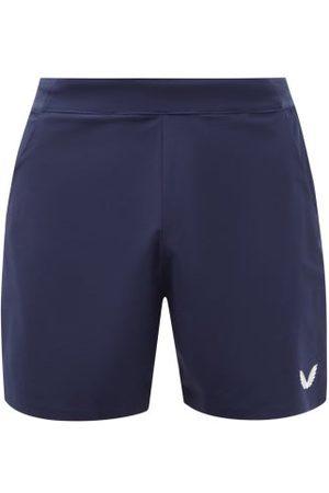 """CASTORE Men Sports Shorts - Logo-print 6"""" Running Shorts - Mens - Navy"""
