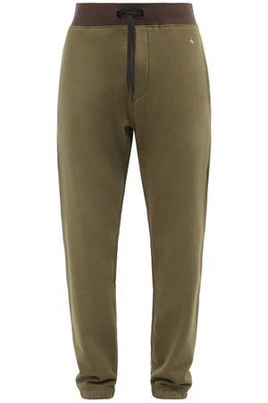 RAG&BONE Men Sweatpants - City Prospect Organic-cotton Jersey Track Pants - Mens - Khaki
