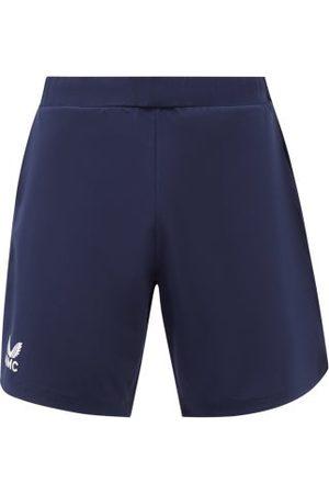 CASTORE Men Sports Shorts - Amc-print Technical-canvas Shorts - Mens - Navy