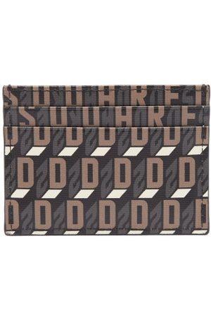 Dsquared2 Monogram-print Faux-leather Cardholder - Mens - Multi