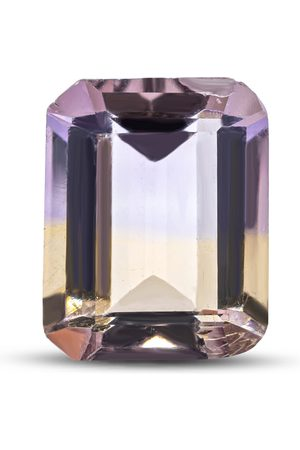 SuperJeweler Previously Owned 3 Carat Octagon Shape Ametrine (10x8mm). Final Sale by